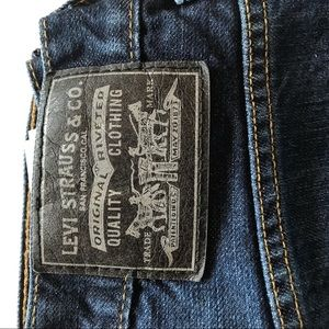 Levi's 569 Blue Jeans Tag Size 30x30